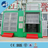 Xingdou ScシリーズSc100/100二重ケージの建築材料の起重機のエレベーター