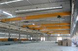 Кран одиночного прогона мостового крана стальной структуры используемый мастерской надземный с электрической лебедкой
