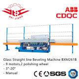 Linha reta de vidro máquina de chanfradura (Bxm261b)