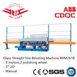 Ligne droite en verre machine taillante (Bxm261b)