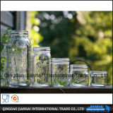 De duidelijke Kruik van het Glas zonder Handvat voor Voedsel