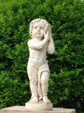 Статуи европейской стеклоткани типа материальные, ангелы