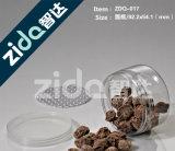 容易な開いたアルミニウムふたが付いている食品等級のゆとりのプラスチック缶