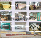 De populier Gelamineerde Fabrikant van het Triplex in Provincie Shandong