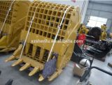 24 cubetas de esqueleto da peneira da cubeta da cubeta do abanador da tonelada para a máquina escavadora