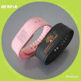 Wristband del silicone con il chip Ntag213, Ntag216, EV1 Ultralight di Nfc
