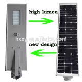 Oscuridad al aire libre del último diseño a amanecer lámpara LED de la luz del panel solar 15W