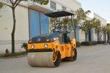 3 톤 고품질 디젤 엔진 두 배 드럼 진동하는 쓰레기 압축 분쇄기 도로 롤러 (JM803H)