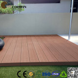 Revestimento de madeira do Decking da grão WPC (CD-01)