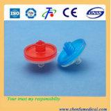 Filtro ordinário da seringa, filtro da infusão da eficiência do elevado desempenho
