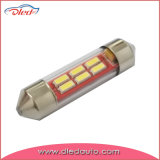 Indicatore luminoso interno dell'automobile del tubo LED del festone 36mm C5w F10 4014SMD