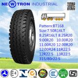 315/80r22.5 tout le pneu lourd radial en acier de camion