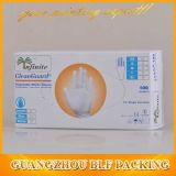 Mano Gloves in Full Color Printing White/Grey Card Paper Packaging Paper Box e Glove Box