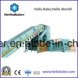 Hola máquina automática horizontal de la prensa de la prensa para el embalaje del papel usado