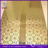 feuille décorative de repère de l'acier inoxydable 304 201 316