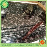 Couleur 304 du SUS 201 repérant la feuille décorative d'acier inoxydable pour l'acier inoxydable de couleur
