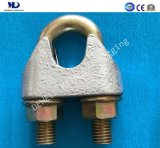 Galv。 ハードウェアを装備する可鍛性鋳造DIN1142ワイヤーロープクリップ