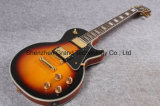 Guitare 1958 faite sur commande Sunburst de Lp de rayon de soleil de cru de Vos