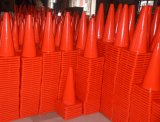 PVC Traffic Cone de 700mm High Road Safety