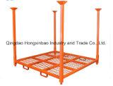 Сверхмощный Stackable паллет столба PVC Coated