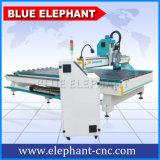 Máquina de cinzeladura de madeira linear do CNC do ATC 2040, máquina de madeira do CNC de China para a venda