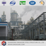 Central eléctrica pesada de la estructura de acero