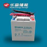 batteria al piombo di uso 12V24ah della batteria solare di conservazione dell'energia