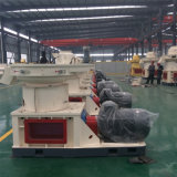 La boucle de large échelle meurent le prix en bambou de machines d'usine de moulin de boulette de Dobule de tailles d'herbe de luzerne en bois verticale de sciure