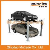 簡単な4つのポスト4のコラム車のスタッカーの駐車を駐車する自動Mutrade