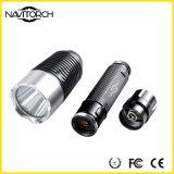 CREE XP-E LED 240 linterna de la dispersión 5W LED del calor de los lúmenes (NK-8806)