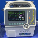 Beweglicher zweiphasiger Defibrillator mit Monitor (HC-8000D)