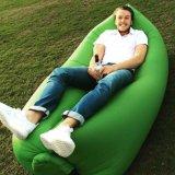 Bequemes aufblasbares Bananen-Luft-Aufenthaltsraum-Sofa für draußen