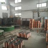 Materiales consumibles Sg2 0.8m m, 1.0m m, soldadura sólida de cobre de la soldadura del OEM de la soldadura Er70s-6 MIG de 1.2m m
