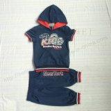 De Kleren van het Kostuum van de Jongen van de manier in Korte Koker voor de Slijtage van Kinderen in Kleding sq-6233