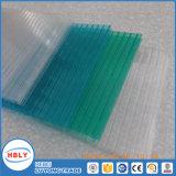 Constructeur neuf de plaque de polycarbonate de revêtement de publicité de décoration de mode de résistance UV