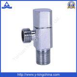 Válvula de ángulo de latón para fontanería (YD-5029)