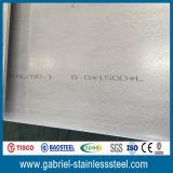 Fini de NO1 de feuille de l'acier inoxydable 304 du Chinois 8mm profondément