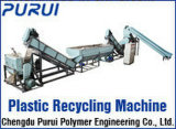 Ligne/film plastique de lavage de film de PE de pp réutilisant la machine