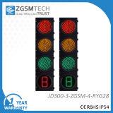 1 colore rosso + 1 verde + 1 semaforo di conto alla rovescia LED