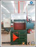 Presse verticale durable bon marché de rebut pour la réutilisation en plastique de textile de carton