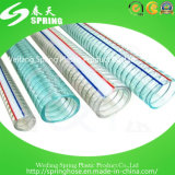 Belüftung-freier Stahldraht-verstärkter Wasser-industrielle Einleitung-Plastikschlauch