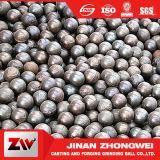 Molino de bola de cobre de la escoria con las bolas del arrabio