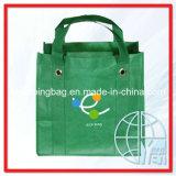 Le sac d'épicerie non-tissé avec le métal fournit des oeillets (ENV-NVB014)