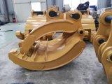El excavador de Cat345D mecánico ataca, gancho agarrador manual, gancho agarrador mecánico, manual ataca