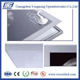Casella chiara nera magnetica di colore LED