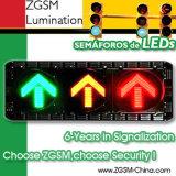 Диск желтого зеленого цвета света лампы островка безопасност СИД красный