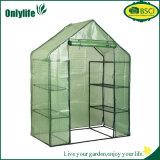 Onlylife Eco freundliches leicht zusammengebautes faltbares Garten-Plastikgewächshaus