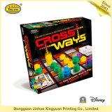 カスタム印刷用紙パズルボードゲーム(JHXY-BG0008)