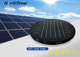 Luz de rua solar controlada 20W do diodo emissor de luz do APP do telefone infravermelho do sensor de movimento