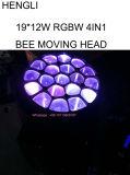 Глаза пчел света 19PCS пчелы СИД Moving головные двигая головку (HL-003BM)